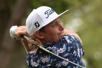 Australian Cameron Smith is feeling more aggressive in his golf game.