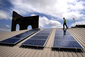 Rooftop solar installations jumped 28 per cent to a record 362,734 last year.