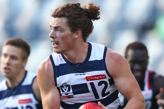 Wylie Buzza moved to Port from Geelong.