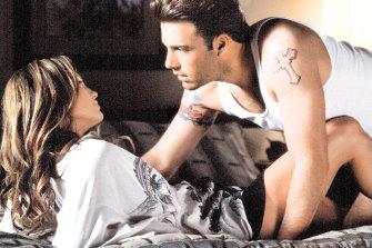 Lopez and Affleck in <i>Gigli</i> in 2003.