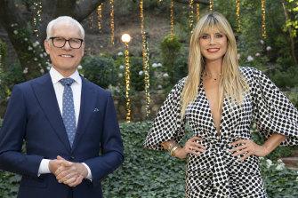 Tim Gunn and Heidi Klum return for a new series of the reality fashion show <i>Making the Cut</i>.