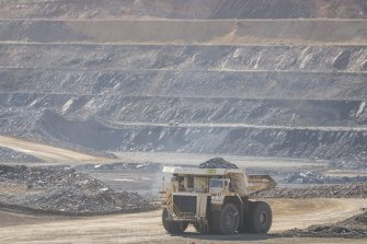 CITIC Pacific's Sino Iron project is about 100 kilometres south of Karratha in WA's Pilbara.