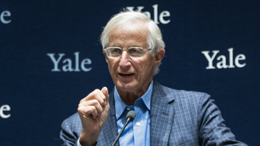 Yale University Professor William Nordhaus.