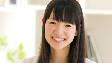 Marie Kondo's four books on organising have sold millions of copies worldwide.