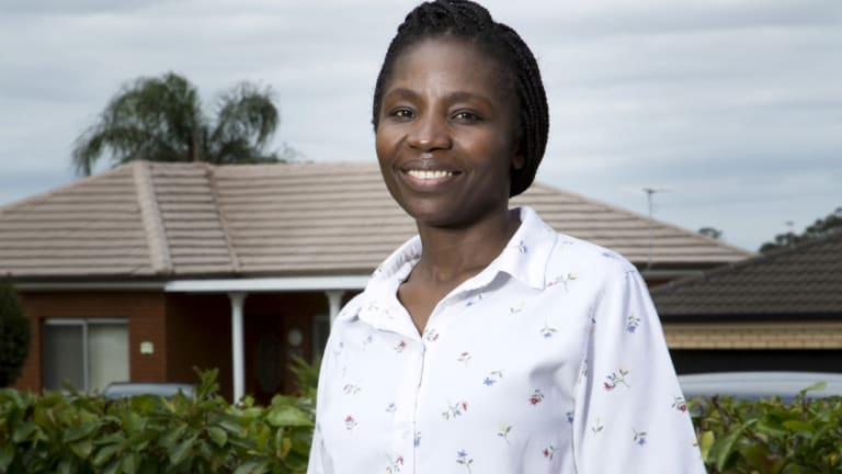 Victoria Kisanga arrived in Blacktown 17 years ago.