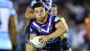 Half-back Brodie Croft is a more comfortable member of the Storm line-up this season.
