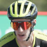 Simon Yates takes Vuelta a Espana red jersey for Mitchelton-Scott