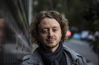 English teacher, Pierre Trioli, 32, who has struggled to find work since the pandemic ravaged the international student industry.