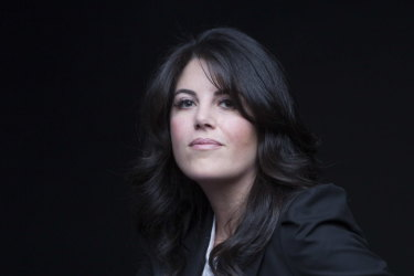 """Monica Lewinsky presented """"A Compassionate Internet"""" at the UNSW Centre for Ideas event on Saturday night."""