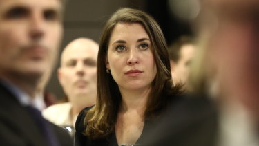 News Corp journalist Annika Smethust, whose home was raided by federal police.