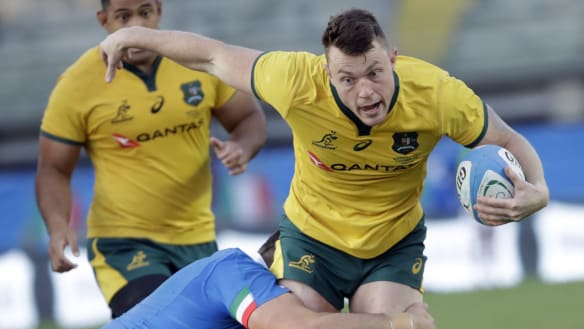 Wallabies beat Italy, Pocock injury not as bad as first thought