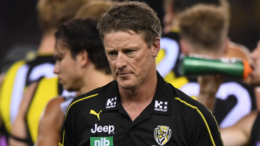 On the prowl: Damien Hardwick says his side are ready to make their mark in September.