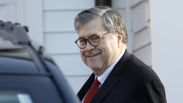 US Attorney-General William Barr.