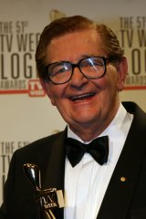 Bill Collins was inducted into the TV Week Logie Hall of Fame in 2009.