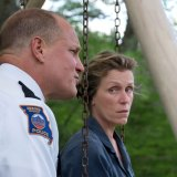 Woody Harrelson and Frances McDormand in <i>Three Billboards Outside Ebbing, Missouri<i>.