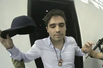 """The government was previously forced to hand over Ovidio Guzman Lopez,a son of Joaquin """"El Chapo"""" Guzman."""