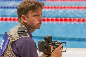 Former Herald photographer Tim Clayton.