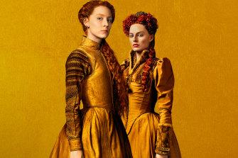 Saoirse Ronan and Margot Robbie star inJosie Rourke's Mary Queen of Scots, Focus Features, 2018.
