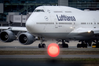 German airline Lufthansa has confirmed it is asking the government to help cover wages as flight cancellations soar amid the coronavirus crisis.