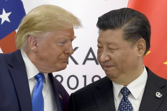 Presidents Donald Trump and Xi Jinping are locked in a trade war.