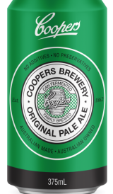 Coopers Original Pale Ale will now be sold in a can.