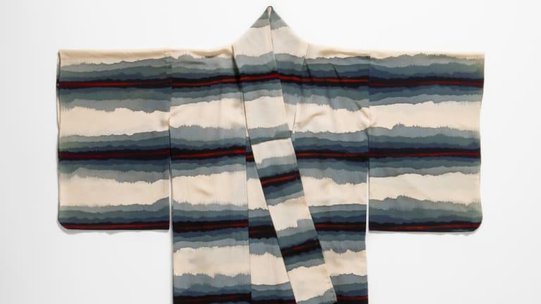 Vintage kimono, silk, date unknown.