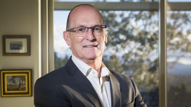 The incoming Treasury secretary, Phil Gaetjens.