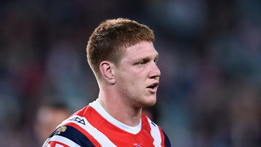 Roosters prop Dylan Napa could be going to the Bulldogs.