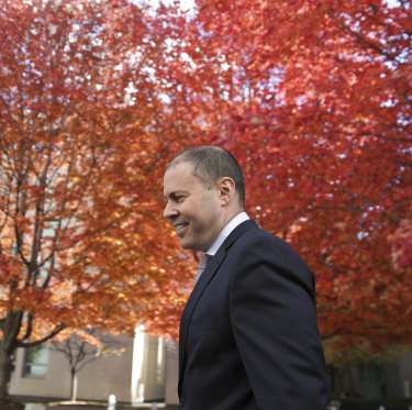 Treasurer Josh Frydenberg is a Liberal Party rising star who may have further to climb.