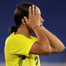 As it happened: Matildas to play for bronze after losing to Sweden in semi