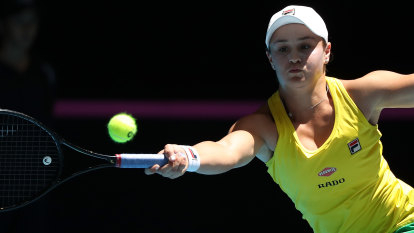 Destiny on Barty's strings as Australia chase Fed Cup glory