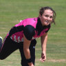 Still striving: A double ton isn't enough for New Zealand spinner Amelia Kerr to call herself an all-rounder.