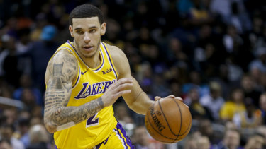 Lonzo Ball also notched a triple-double.