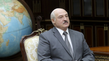 Belarusian President Alexander Lukashenko.