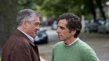 Robert de Niro and Ben Stiller face off in meet the Fockers