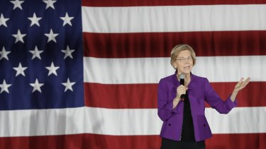 The letter says Elizabeth Warren, as well as fellow Democratic presidential hopefuls Pete Buttigieg and Beto O'Rourke support the idea.
