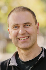 Paul Thomas, a professor at theUniversity of Adelaide who is leading research into controlling mice using genetics.