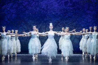 The Australian Ballet dancers in The Nutcracker.