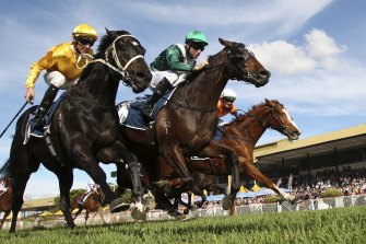 Eagle Farm was subject to a bomb hoax last weekend.