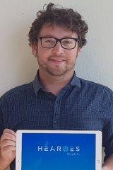 App designer Elliot Miller himself has a cochlear implant.