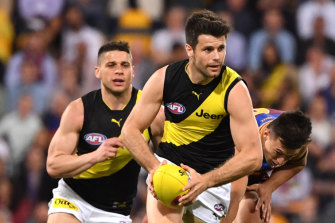 Skipper Trent Cotchin will be a key player for the Tigers.