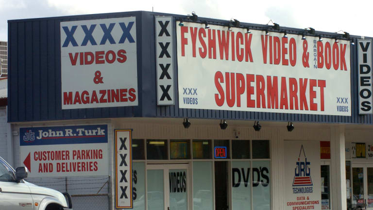 Adult stores were more abundant in Fyshwick before the rise of the internet.
