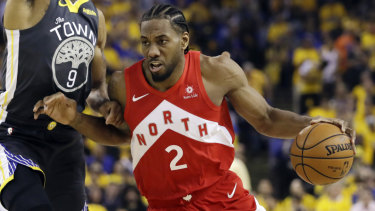 Recruiting drive: New LA Clippers signing Kawhi Leonard with his former club, NBA champions Toronto.