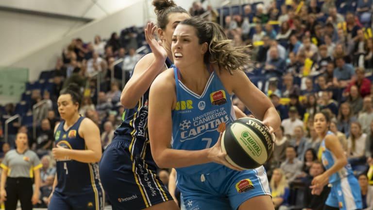 Lauren Scherf scored 22 points and grabbed five rebounds.