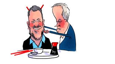 Take that PVO! Illustration: Matt Golding