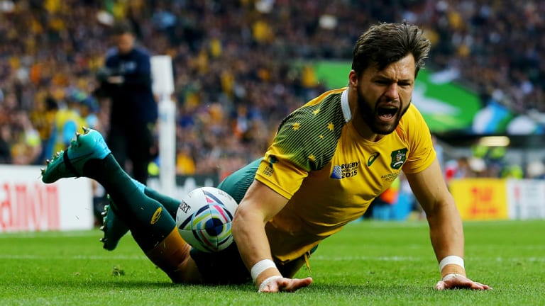 Comeback: Adam Ashley-Cooper has joined the Wallabies in Japan.