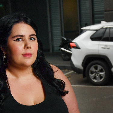 Tansy Gorman hopped in a car thinking it was an Uber.