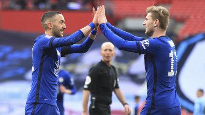 Chelsea end Man City's quadruple bid, reach FA Cup final