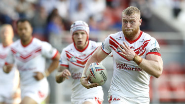 St Helens' big bopper Luke Thompson is bound for Canterbury Bulldogs in 2021.