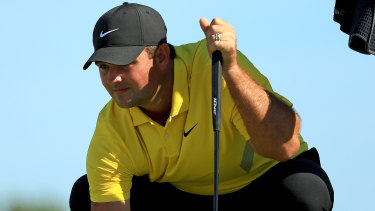 Several players on the International team were reportedly furious with Patrick Reed for moving sand at the Hero World Challenge.